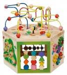 Holzspielzeug - 7-in-1 Gartenspielcenter