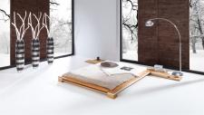 Massivholzbett Bett Schlafzimmerbett TOKYO Buche massiv 100x200 cm
