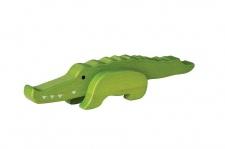 Holzspielzeug - Bambus Krokodil
