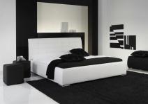 Polsterbett Bett Doppelbett Tagesbett - VERMONT - 180x200 cm Weiss