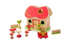 Holzspielzeug - Märchen-Puppenhaus