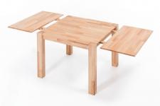 Ansteckplatte 40 cm für Tische DARVIN 120 und 80 cm Buche massiv geölt