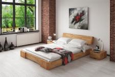 Massivholzbett Bett Schlafzimmerbett MESA Buche massiv 100x200 cm