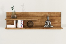 Wandregal Wandboard MAISON Wildeiche massiv geölt 100x37x20 cm