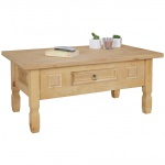 Couchtisch Tisch WOODI Kiefer vollmassiv /Echtholz 100 x 60 cm