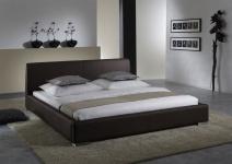 Polsterbett Bett Doppelbett Tagesbett - COSIMO - 100x200 cm Braun