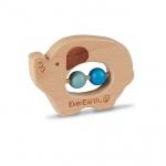 Holzspielzeug - Greifring Elefant (Rüssel oben)