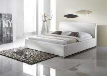Polsterbett Bett Doppelbett Tagesbett - COSIMO 2 - 100x200 cm Weiss