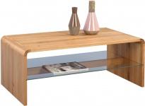Couchtisch Tisch DORIAN 109x60 cm Wildeiche Massiv geölt
