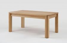 Esstisch Tisch mit Gestellauszug OLAND 200/ 280 x 100 cm Eiche massiv