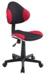 Drehstuhl Bürostuhl Stuhl - Nr 25 - Schwarz-Rot