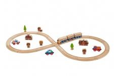 Holzspielzeug - Eisenbahn Starterset