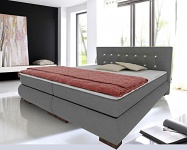Boxspringbett Schlafzimmerbett FLORENZ 100x200 cm