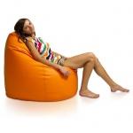 Sitzsack Belo XXL- Sitzsackerlebniss in Casablanca Stoff und 12 Farben