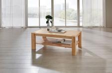 Couchtisch Tisch MORITZ Eiche vollmassiv / Echtholz 100 x 100 cm