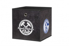 Faltbox Box - FC Schalke / Nr.3 - 32 x 32 cm