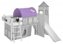 Tunnel Frozen 1- für Hochbett. Spielbett und Etagenbett