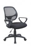 Drehstuhl Bürostuhl Stuhl - Nr 20 - Schwarz