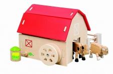 Holzspielzeug - Bio Bauernhof Set
