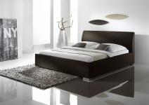 Polsterbett Bett Doppelbett Tagesbett - COSIMO 2 - 100x200 cm Braun