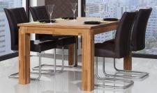 Esstisch Tisch MAISON Wildeiche massiv geölt 100x100 cm