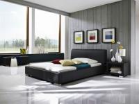 Polsterbett Bett Doppelbett Tagesbett - COSIMO - 100x200 cm Schwarz