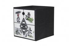 Faltbox Box - Borussia Mönchengladbach / Nr.3 - 32 x 32 cm / 3er Set