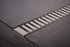 Duschrinne Dusch Badablauf Bodenablaufrinne NR.3 - 50 cm/ Edelstahl