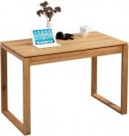 Schreibtisch Konsole Sekretär ALAN 110x76x60 cm Wildeiche massiv