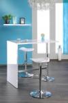"""Party Stehtisch Tisch Bartisch """" Tropic"""" Hochglanz weiss 120x105x60 cm"""