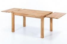 Ansteckplatte 40 cm für Tische DARVIN 160 und 140cm Eiche massiv geölt