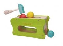 Holzspielzeug - Hammer und Ball Set