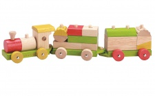 Holzspielzeug - Eisenbahn