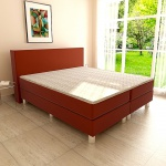 Boxspringbett Schlafzimmerbett PAVIA 100x200 cm