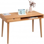 Schreibtisch Konsole Sekretär VINZ 120x75x60 cm Kernbuche massiv
