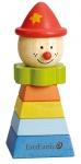 Holzspielzeug - Clown- roter Hut