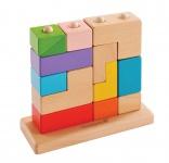 Holzspielzeug - 3D Puzzle Block