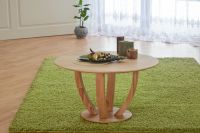 Couchtisch Tisch ROMI Kernbuche vollmassiv / Echtholz 80 x 80 cm - Vorschau 5
