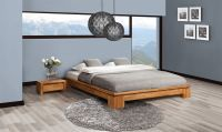 Futonbett Bett Schlafzimmerbet MAISON Eiche massiv 180x200 cm - Vorschau 4