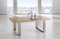Couchtisch Tisch KENO Eiche vollmassiv geölt 110 x 70 cm - Vorschau 2