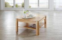 Couchtisch Tisch THILO Buche vollmassiv / Echtholz 70 x 70 cm - Vorschau 5