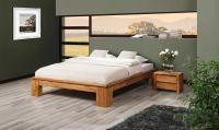 Futonbett Bett Schlafzimmerbet MAISON XL Eiche massiv 140x200 cm - Vorschau 5