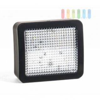 LED TV Simulator / Fernseh-Attrappe als Einbruch-Abschreckung, Ein-/Ausschalter, Nachtlicht, Batteriebetrieb