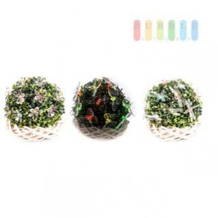 Solar-Lichterkette 20 LEDs mit automatischem Farbwechsel Rot/Grün/Blau, inkl. Akku und Solarpanel, 3 verschiedene Figuren