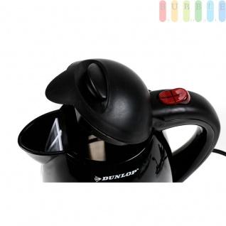 Elektrischer Auto-Wasserkocher ohne Heizspirale von Dunlop, Automatikschalter, Trockengehschutz, Überhitzungsschutz, Volumen 0, 8Liter, 12 Volt 150 Watt - Vorschau 4