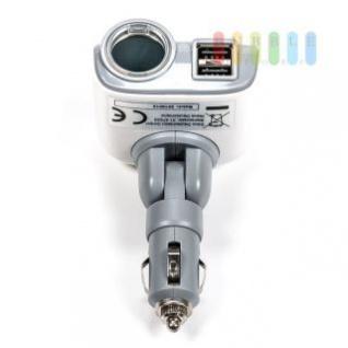 Steckdose/USB-Adapter Grundig 1-fach, Stecksystem verstellbar, 2 x USB, 12/24V, max. 8V/5V, 2A
