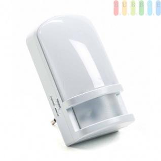 Sensorlicht von Grundig für die Steckdose, 6Funktionen, Dämmerungssensor oder Standlicht, 3LEDs, 0, 5W, weiß/bunt, 230V