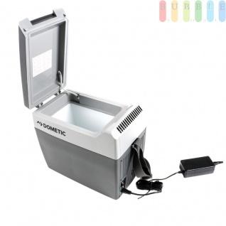 Thermoelektrische Kühlbox/Heizbox von Dometic, Tropicool TC 07, mobil, Anschlußkabel für Zigarettenanzünder 12V, Netzadapter für 230V mit Anschlußkabel 230V