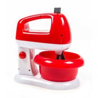 Küchenmaschine / Mixer von EDDY TOYs, Mixer dreht, Betriebsleuchte aktiv, Kippfunktion, Schüssel entnehmbar, Batteriebetrieb, Größe ca. 18 x 19, 5 x 13 cm