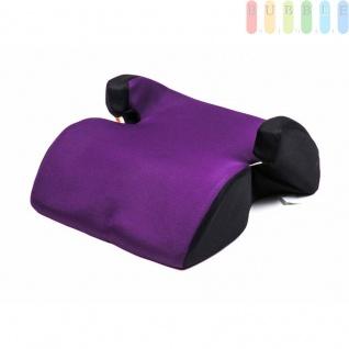 Kindersitzerhöhung ALL Ride Techno entspricht EU-Norm ECE 44/04 2928 (E20), von 15 bis 36 kg, Farbe Lila